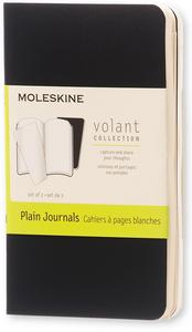 Cartoleria Taccuino Volant Moleskine extra small a pagine bianche. Set da 2 Moleskine 0