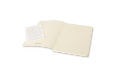 Cartoleria Taccuino Volant Moleskine extra small a pagine bianche. Set da 2 Moleskine 2