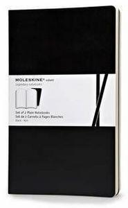 Cartoleria Taccuino Volant Moleskine large a pagine bianche Moleskine 0