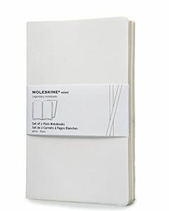 Cartoleria Moleskine Volant Notebooks large a pagine bianche White Moleskine