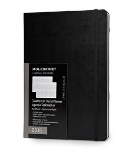 Cartoleria Planner 2015 12 Mesi settimanale verticale Moleskine Professional Moleskine 0