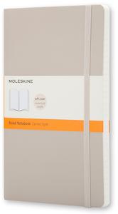 Cartoleria Taccuino Moleskine large a righe copertina morbida Moleskine 0