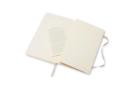 Taccuino Moleskine large a pagine bianche copertina morbida - 4