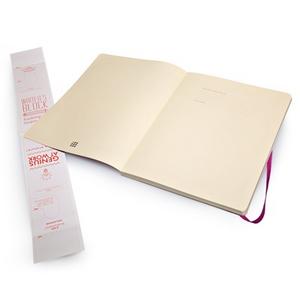 Cartoleria Taccuino Moleskine extra large a pagine bianche copertina morbida Moleskine 1