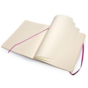Cartoleria Taccuino Moleskine extra large a pagine bianche copertina morbida Moleskine 2