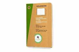 Cartoleria Taccuino Evernote Moleskine pocket a righe con Smart Stickers. Set da 2 Moleskine