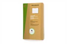 Cartoleria Taccuino Evernote Moleskine large a righe con Smart Stickers. Set da 2 Moleskine