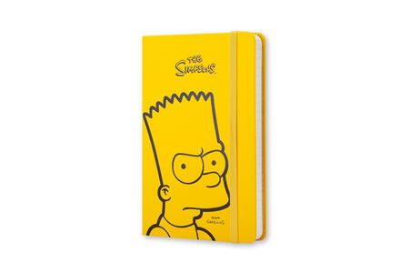 Taccuino Moleskine Simpson Limited Edition pocket a righe. Bart. Giallo - 2