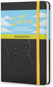 Cartoleria Taccuino Moleskine pocket a pagine bianche. I Simpson copertina rigida Moleskine 0