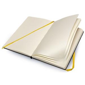 Cartoleria Taccuino Moleskine large a pagine bianche. I Simpson copertina rigida Moleskine 1
