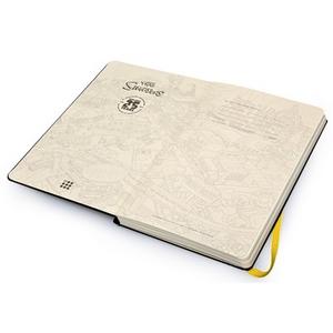 Cartoleria Taccuino Moleskine large a pagine bianche. I Simpson copertina rigida Moleskine 3