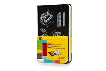 Cartoleria Taccuino Moleskine pocket a pagine bianche. LEGO Moleskine
