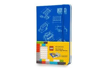 Cartoleria Taccuino Moleskine large a pagine bianche. LEGO Moleskine 0