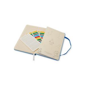 Cartoleria Taccuino Moleskine large a pagine bianche. LEGO Moleskine 5