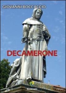 Decamerone - Giovanni Boccaccio - copertina