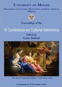 Third conference on cultural astronomy