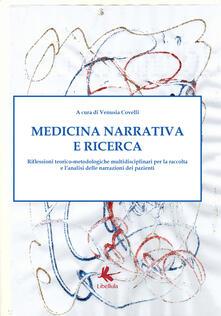Medicina narrativa e ricerca - Venusia Covelli - copertina