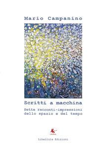 Scritti a macchina - Mario Campanino - copertina