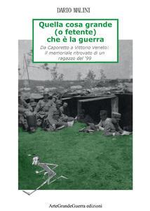 Quella cosa grande (o fetente) che è la guerra - Dario Malini - copertina