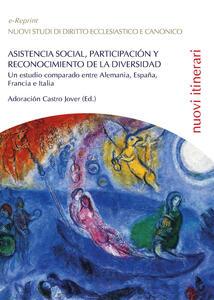 Asistencia social, participacion y reconocimiento de la diversidad: un estudio comparado entre Alemania, España, Francia e Italia - Adoración Castro Jover - copertina