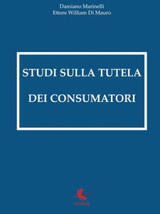 Studi sulla tutela dei consumatori - Damiano Marinelli - copertina