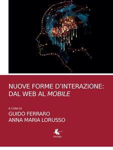 Nuove forme d'interazione: dal web al mobile - copertina