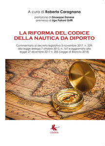 La riforma del codice della nautica da diporto - Roberta Caragnano - copertina