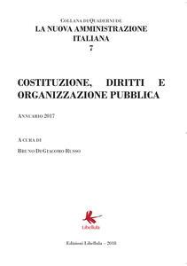 La nuova amministrazione italiana. Vol. 7: Costruzione, diritti e organizzazione pubblica. - copertina