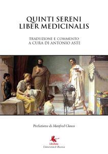 Liber Medicinalis Sammonici - Antonio Aste - copertina