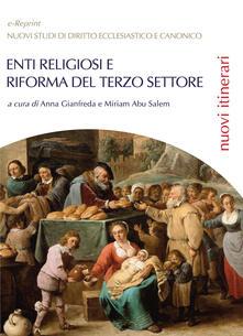 Enti religiosi e riforma del Terzo settore - copertina