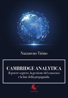 Listadelpopolo.it Cambridge Analytica. Il potere segreto, la gestione del consenso e la fine della propaganda Image
