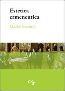 Estetica ermeneutica - Claudio Guerrieri - copertina