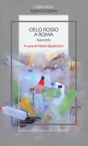Cielo rosso a Roma - copertina