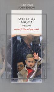 Sole nero a Roma - copertina