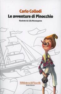 Le avventure di Pinocchio. Ediz. illustrata - Carlo Collodi - copertina