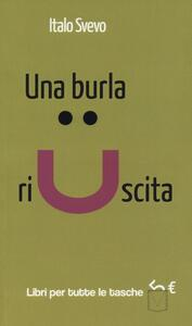 Una burla riuscita - Italo Svevo - copertina