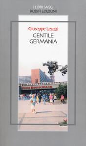 Gentile Germania - Giuseppe Leuzzi - copertina