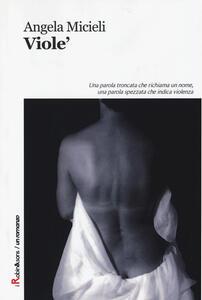 Viole' - Angela Micieli - copertina