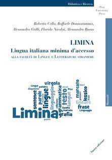 Limina. Lingua italiana minima daccesso alla Facoltà di Lingue e Letterature Straniere.pdf