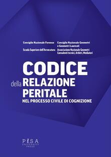 Ipabsantonioabatetrino.it Codice della relazione peritale nel processo civile di cognizione Image