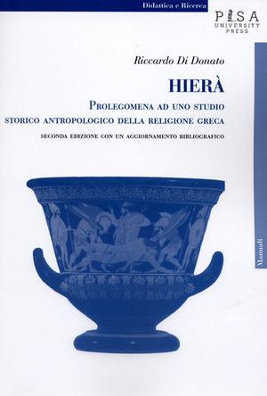 Hierà. Prolegomena ad uno studio storico antropologico della religione greca