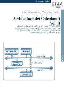 Architettura dei calcolatori. Vol. 2: Struttura hardware del processore PC, del Bus, della memoria, delle interfacce e gestione dell'I/O, con riferimento al personal computer....