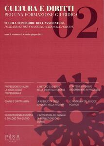 Cultura e diritti. Per una formazione giuridica (2013). Vol. 2