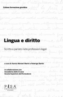Antondemarirreguera.es Lingua e diritto. Scritto e parlato nelle professioni legali Image