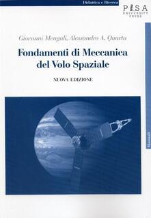 Premioquesti.it Fondamenti di meccanica del volo spaziale Image