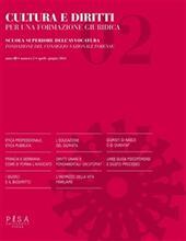 Cultura e diritti. Per una formazione giuridica (2014). Vol. 2