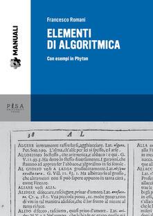 Listadelpopolo.it Elementi di algoritmica. Con esempi in Phyton Image