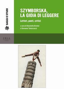 Promoartpalermo.it Szymborska, la gioia di leggere. Lettori, poeti, critici Image