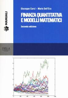 Finanza quantitativa e modelli matematici.pdf