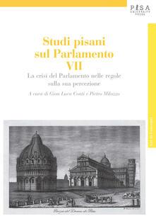 Antondemarirreguera.es Studi pisani sul Parlamento. Vol. 7: crisi del Parlamento nelle regole della sua percezione, La. Image